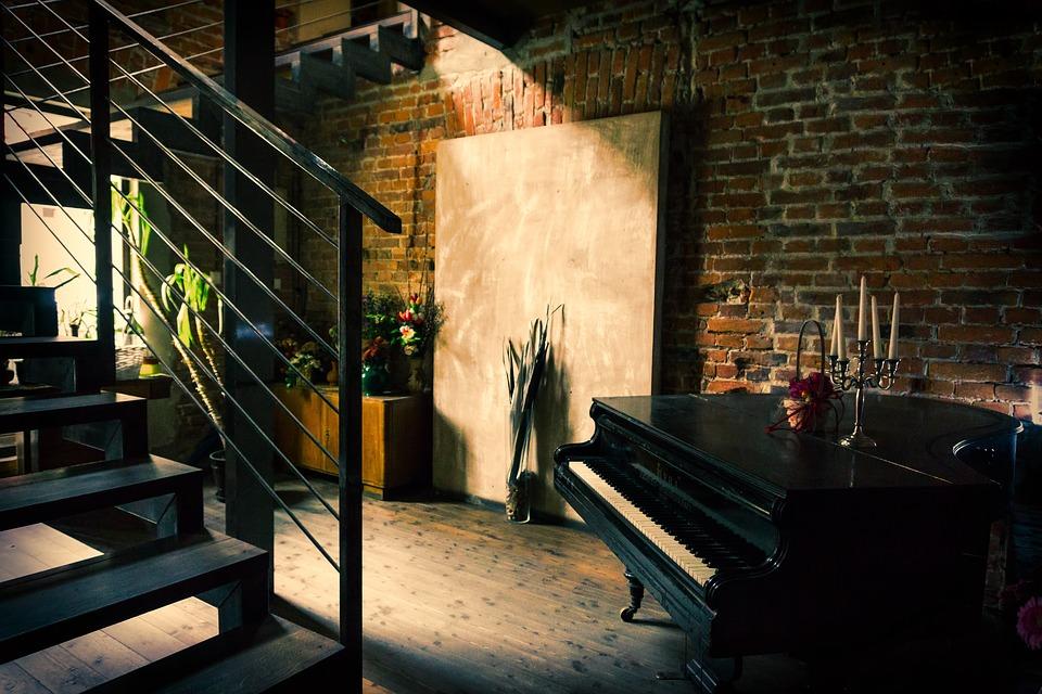 dom, interér, schody