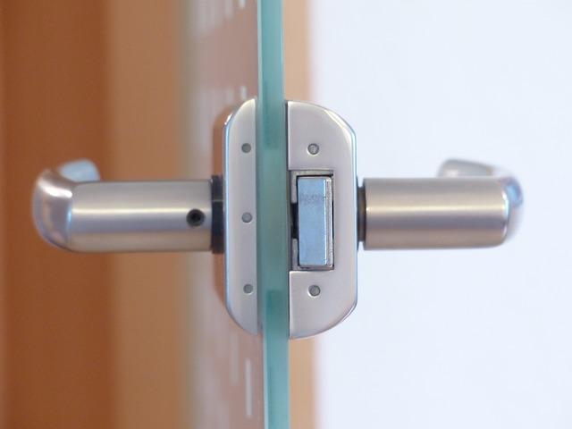 skkleněné dveře